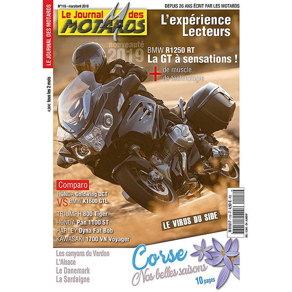 LE JOURNAL DES MOTARDS n°116 – mars / avril 2019